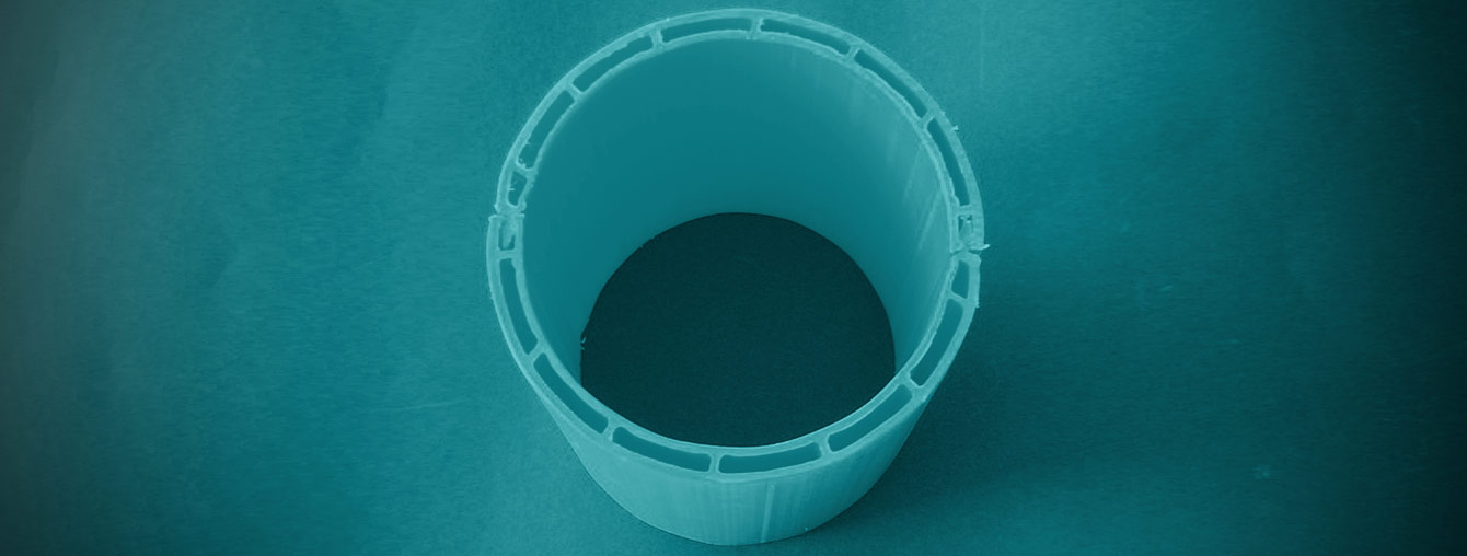 colored DHP HDPE Half pipe duct