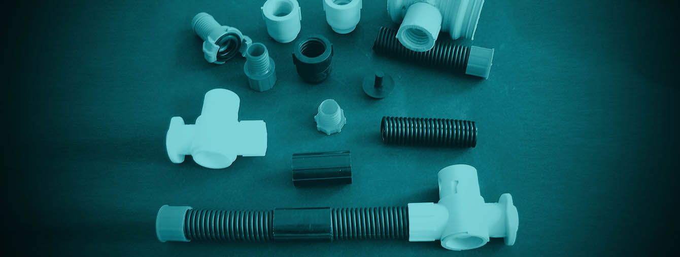 Post tensioning - plastic - fittings - components