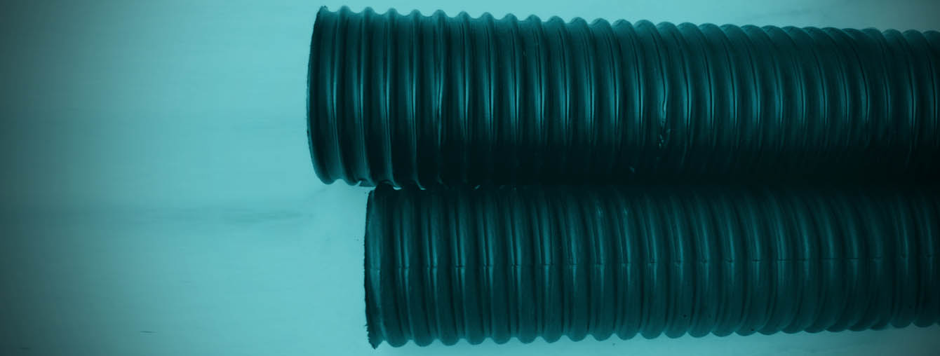 spiral corrugated HDPE pipe duct