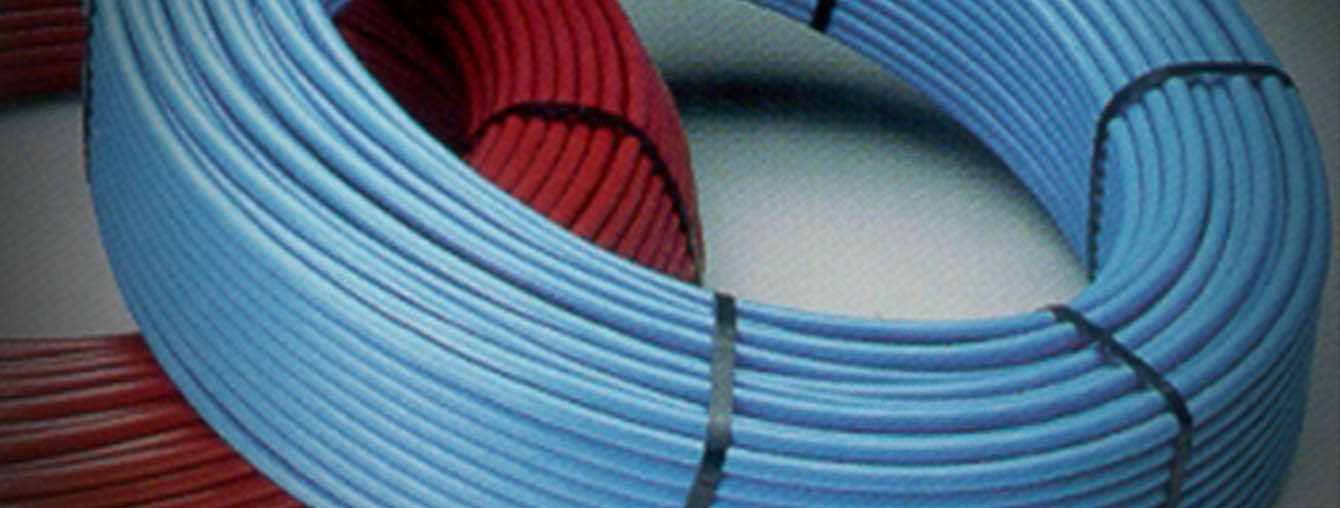 High pressure injection HDPE pipes ducts