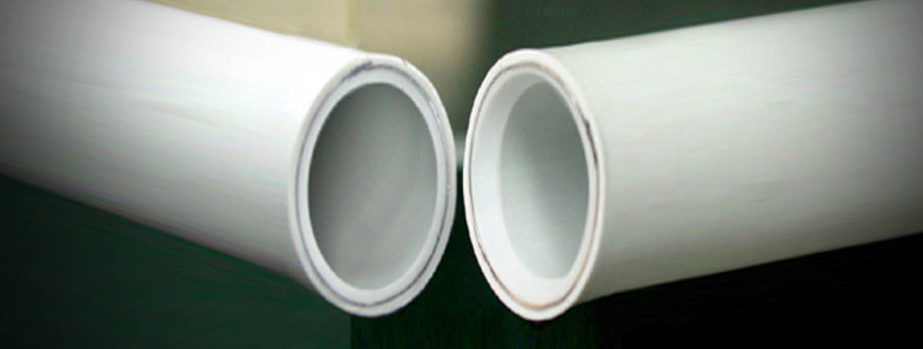 Multilayer HDPE PE 80 - PE 100 RC pipe high crack resistance - aluminium barrier