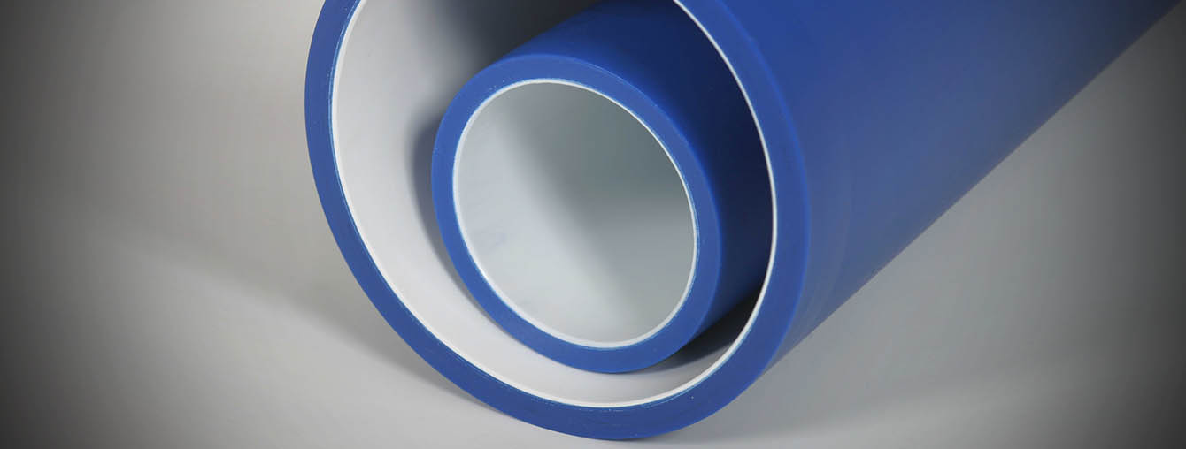 High abrashion HDPE pipe duct for extreme mechanical loads, sand, gravel