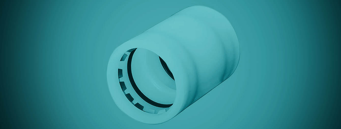 Mechanical Non-Flange Coupler HDPE pipe duct fitting