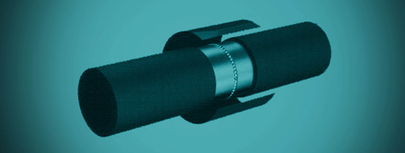 HDPE Heat Shrink pipe sleeve wrap closure