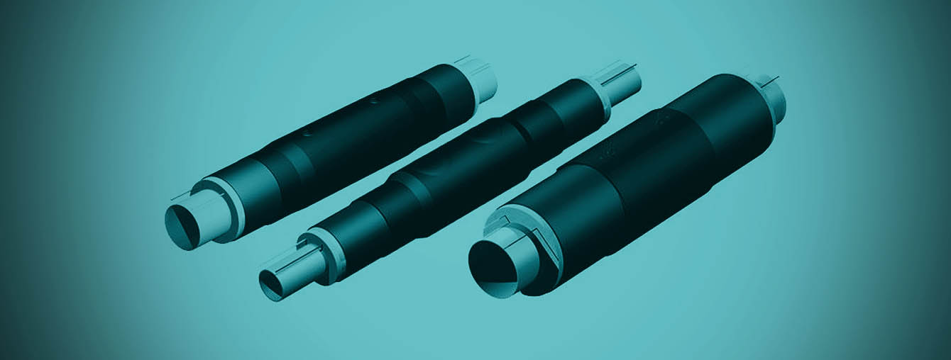 HDPE Heat Shrink pipe sleeve fitting electrofusion