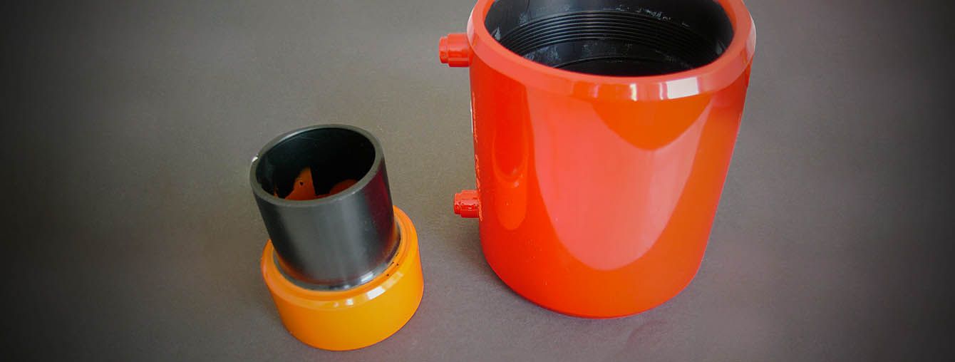 HDPE duct pipe fitting durable painting system