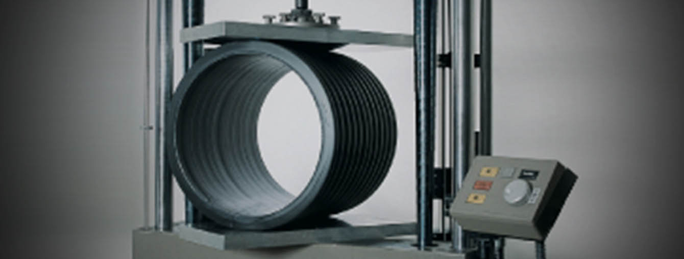 HDPE pipe duct - polyethylene destructive and non distructive product test