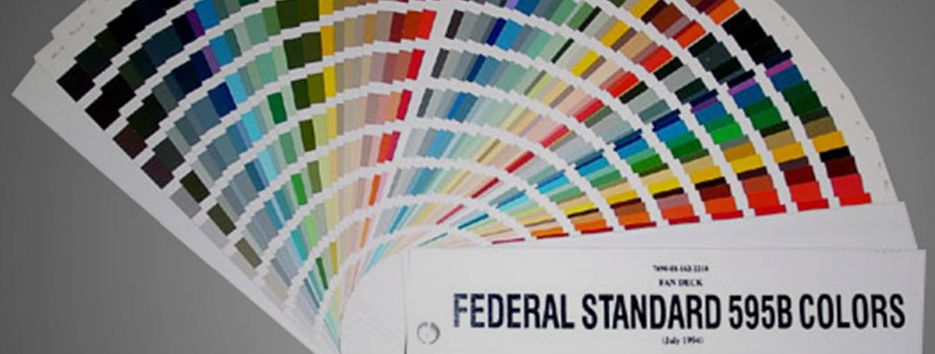 Federal Standard Color Chart Pestec Germany